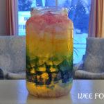 Ombre Rainbow Tissue Paper Lantern
