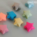 Origami Paper Star Tutorial :: Lucky Stars