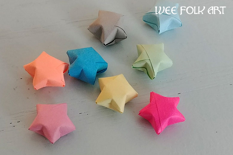 Origami Paper Star Directions