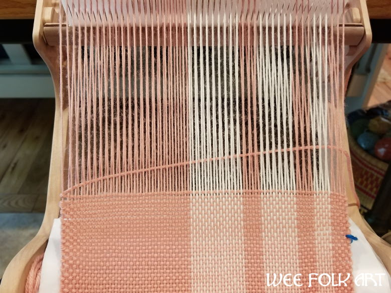 Woven Asymmetric Plaid Scarf