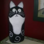 Kitty Cat Doorstop