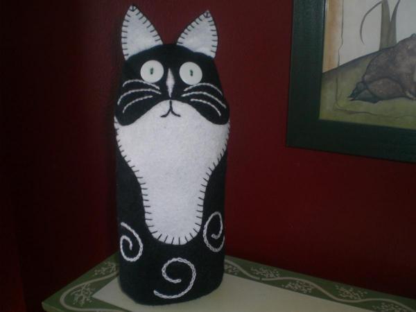 Kitty Cat Doorstop Wee Folk Art