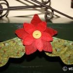 Poinsettia Garland