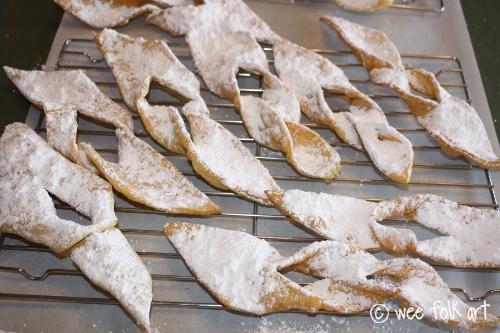 Angel Wings Recipe traditional Polish Chrusciki Dessert