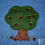 Apple Tree Applique Block