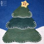 Christmas Corner – Christmas Tree Applique Block