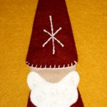 Gnome for the Holidays Applique Block