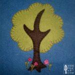 Tree Applique Block
