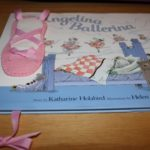 Ballet Slipper Book Mark
