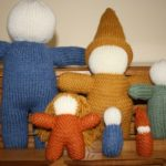 Basic Knit Doll Family