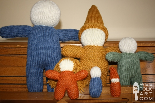 A Whimsy Of Knit Gnomes Wee Folk Art
