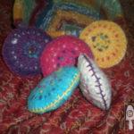 Crocheted Bean Bags
