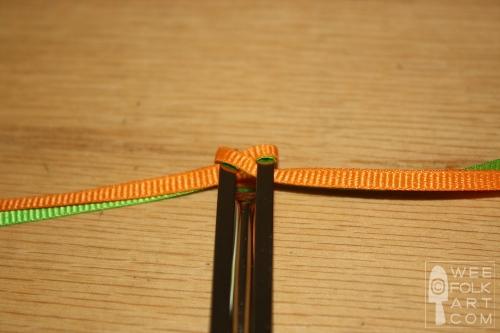 How to Make Ribbon Braided Barrettes Tutorial