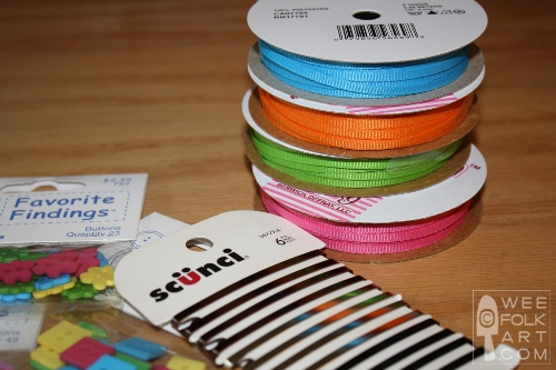 80s Style Ribbon Braided Barrette Tutorial