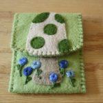 Mushroom Business Card Holder