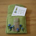 I've Got the Mushroom Business Card Case Blues!