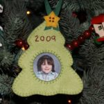 Christmas Tree Picture Ornament