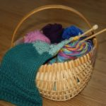 Community Knitting Basket