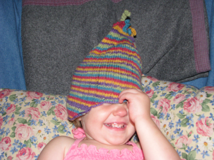elf hat wee folk art