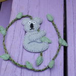Felt Koala Bookmark Pattern