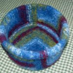 Wool Felted Mitered Bowls – Directions