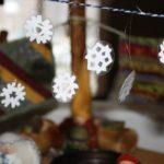 Gnome Snowflake Garland