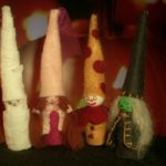 Halloween Gnome Mummy Pattern