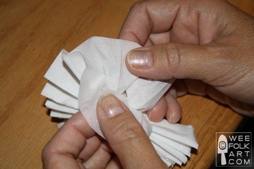 Kleenex carnations wee folk art carefully separate the layers of tissue the tissue paper is very thing gently pull apart the 3 or 4 layers make sure you separate all pieces of kleenex mightylinksfo