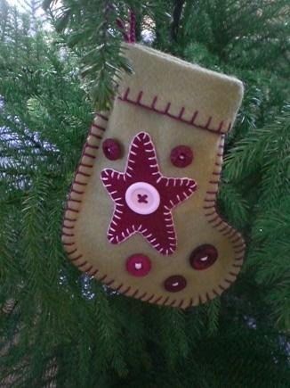 Mini Stocking Directions-Star