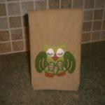 Slumbering Owl Lunch Sack