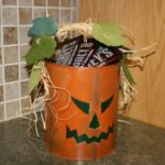 Paint Bucket Jack-O-Lanterns