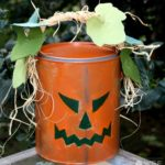 Paint Bucket Jack-O-Lantern Pattern