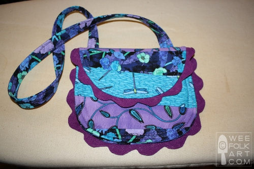 easy sewing party purse pattern