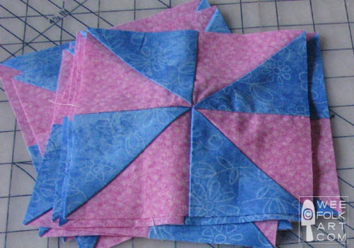 Quilt Patterns Windmill Block : Pinwheel Baby Quilt - Part One