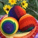 Natural Soy Crayons and Juggling Balls