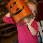 Jack-o-Lantern Buckets