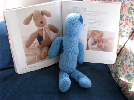 Knit Puppy Toy