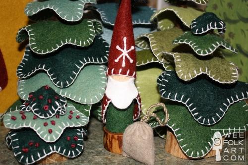 3b4e909d8 Santa Gnome    Santa Peg Doll - Wee Folk Art