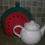 Watermelon Tea Cozy Opps!