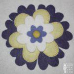 Spring Flower Applique Block