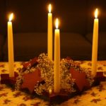 Star Advent Wreath and Candleholders Directions