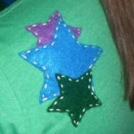 Star Trio Applique Block