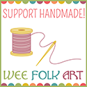 support handmade sewing button