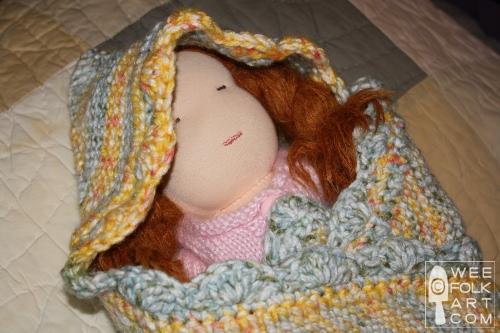 Knit Swaddle Wee Folk Art