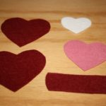 Valentine Napkin Rings and Napkins