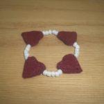 Valentine Bracelet Directions
