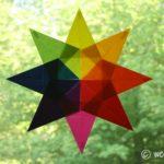 Kite Paper Window Stars