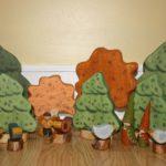 Christmas Corner – Wooden Pine Forest