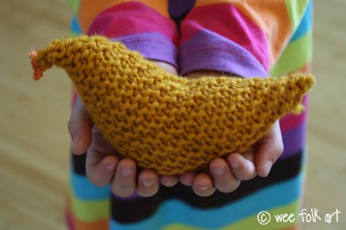 Newbie Knitting Little Birdie Wee Folk Art