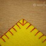 Blanket Stitching – Part 3 – Corners and Sewing 2 Pieces Together